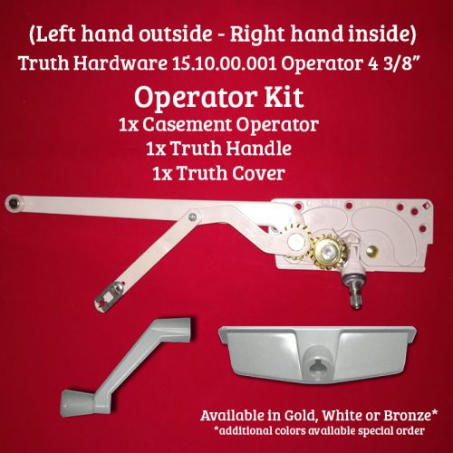 truth entrygard operator kit left hand