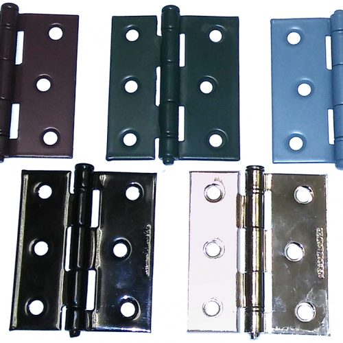 custom colored storm door hinges