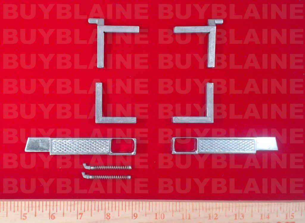 window tilt latch assemblies