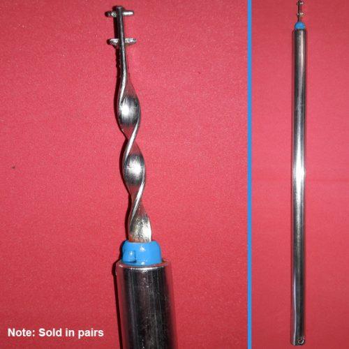 blue tip spiral balance rod