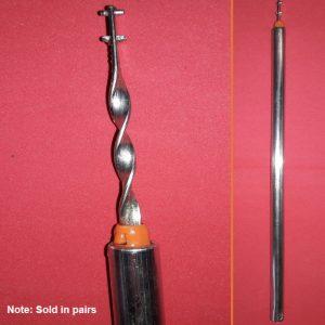 red tip spiral balance rod