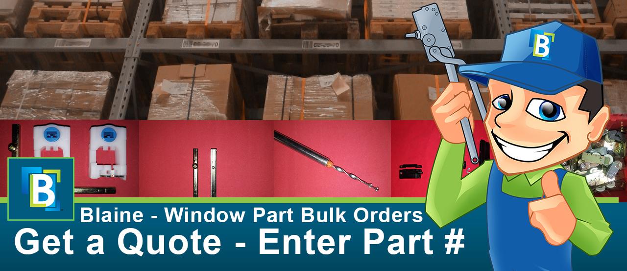 bulk window parts