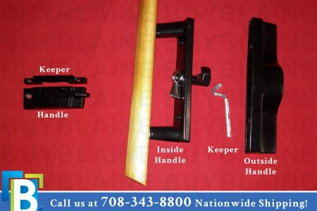 patio door locking handle
