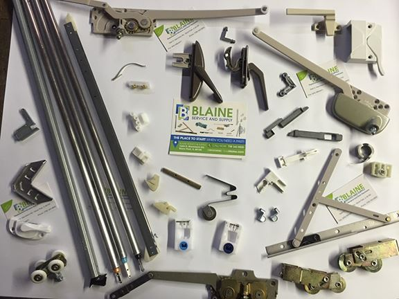 Window Hardware Parts in  Leadwood